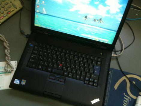 しっかりした作りがうれしいThinkPad SL500